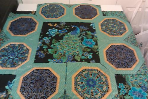 Plume quilt designing
