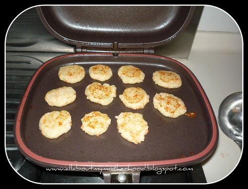 Salmon Potatoes Patties with Happycal