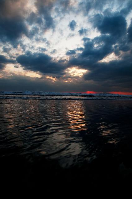 千葉の海 大島の空