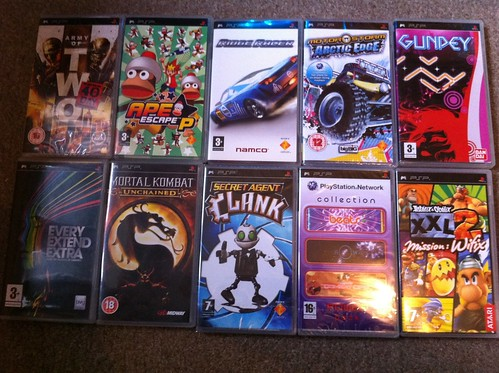 Playstation portable psp umd movies and games (pick from list.