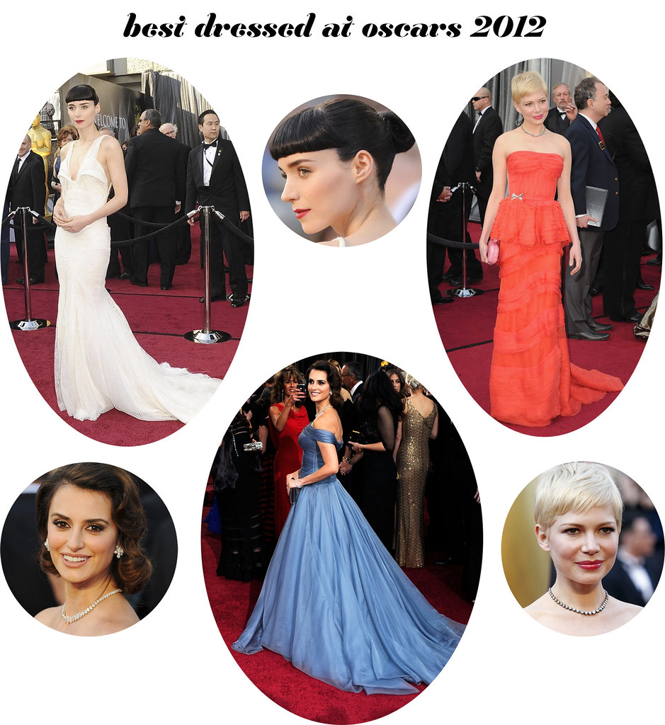 my oscar 2012 dress picks