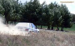 V Tramo cronometrado de tierra Loeches 2012 - Eduardo Herrero/Esther Trancon - Citroen Saxo VTS