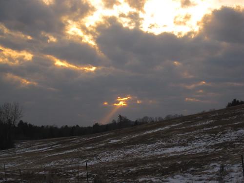 sunset ny geotagged us unitedstates upstatenewyork lateday gloversville