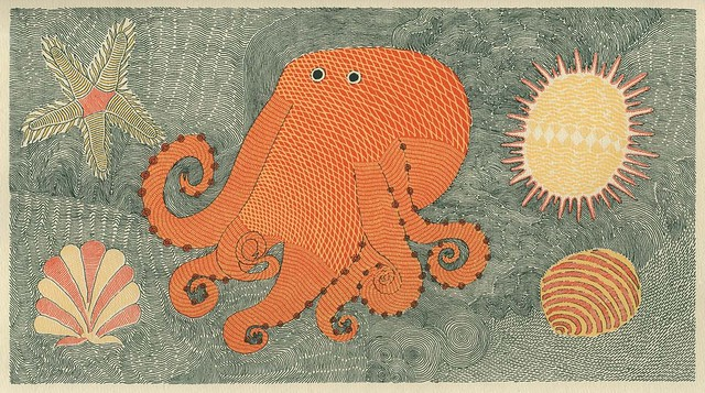 Waterlife octopus (Tara books)