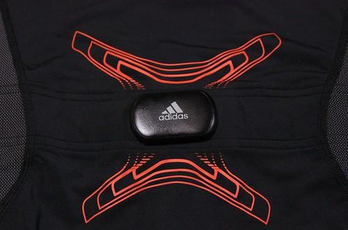 adidas TECHFIT miCoach Short Sleeve