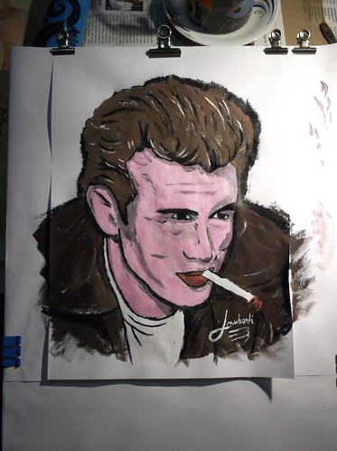 James Dean by Giuseppe Lombardi