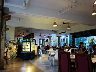 Interior of Barracks Cafe