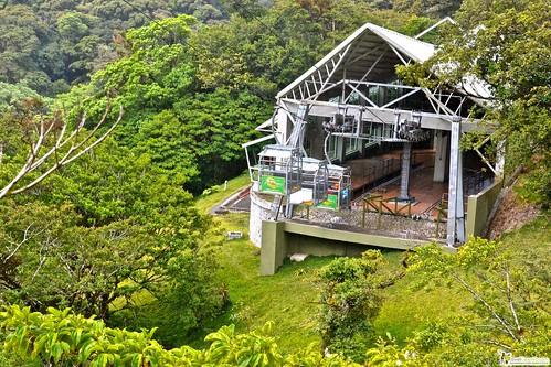gondola in the rain forest costa rica