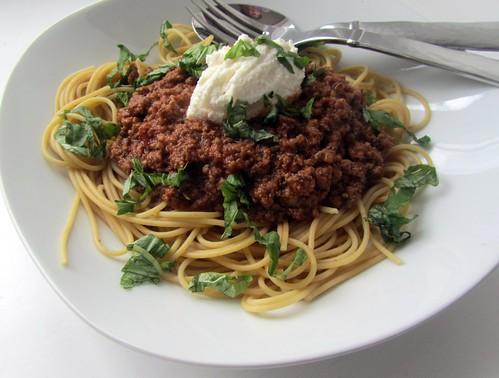 Spaghetti Bolognese Redux
