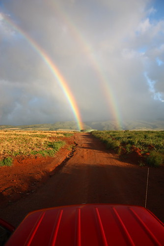 Double Rainbows Photo by Chris Johns