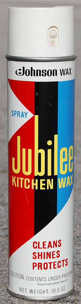 jubilee kitchen wax 1970s - Jubilee Kitchen Wax