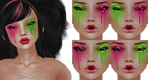 *BOOM* 1L eye paint set.