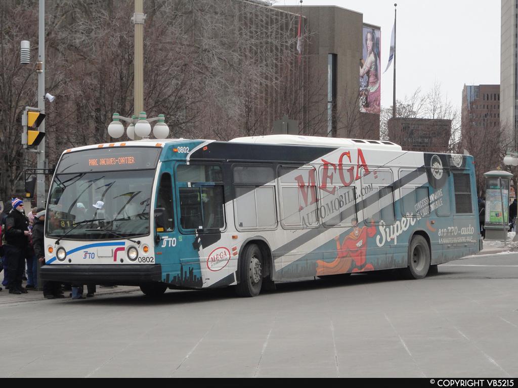 Société de transport de l'Outaouais #0802