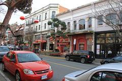 Victoria B.C. Chinatown Shops