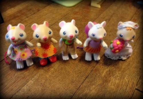 Stella Squeak & friends