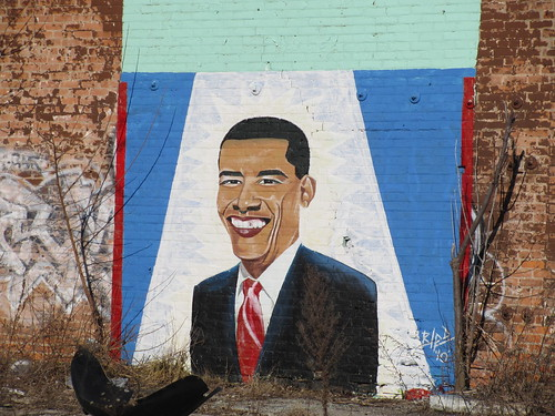 Obama on Gratiot Ave.