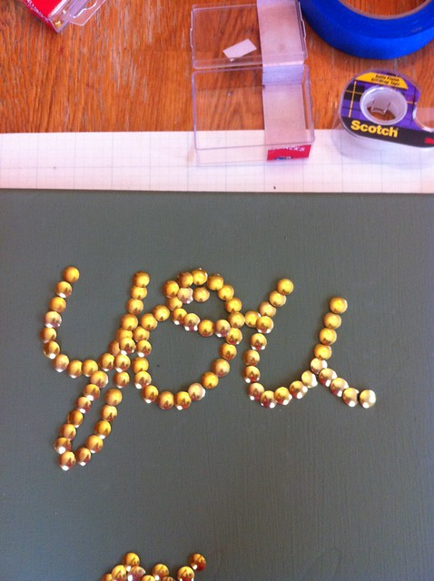 You Me Oui Thumbtack Art
