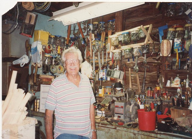pawpaw in his garage