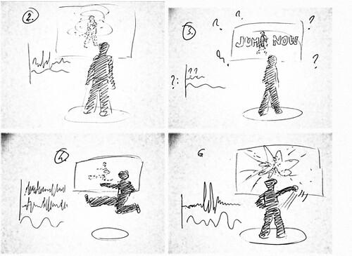 sketch of Trinity Kick