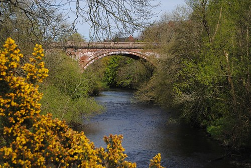 Kirklee Bridge over the River Kelvin