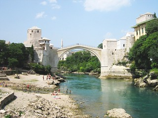 Stari Most Bridge, Mostar, Bosnia and Herzegovina by Mhare