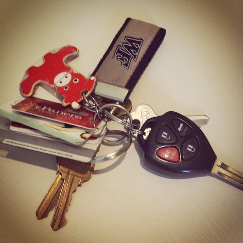 {Day 15} #car keys {is it just me or have these prompts been kinda lame lately?} #marchphotoaday #catchup