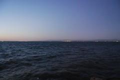 Blue velvet Bay at twilight. seg_y