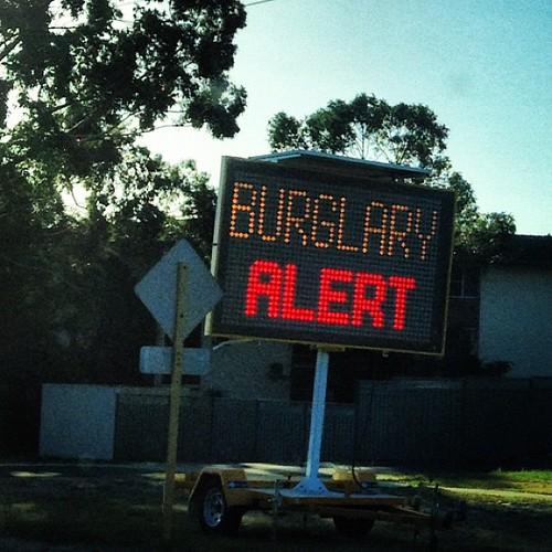 Burglary Alert