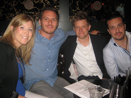 Celeb Chefs Richard Blais, Spike Mendelsohn and Fabio Viviani hanging out with RCP at Restaurants Rock