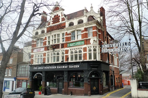 Great Northern Railway Tavern, Hornsey, N8