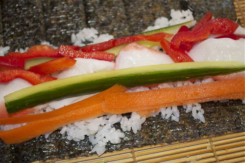 sushi roll 15