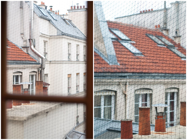 Rooftops Collage
