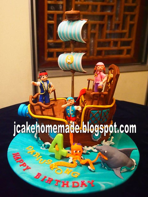 jake and the neverland pirates cake - photo #40