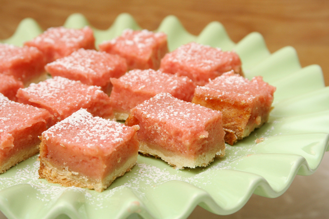 strawberry lemonade bars 8