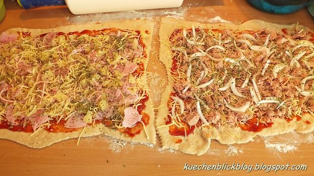 Pizzaschneckenmuffins