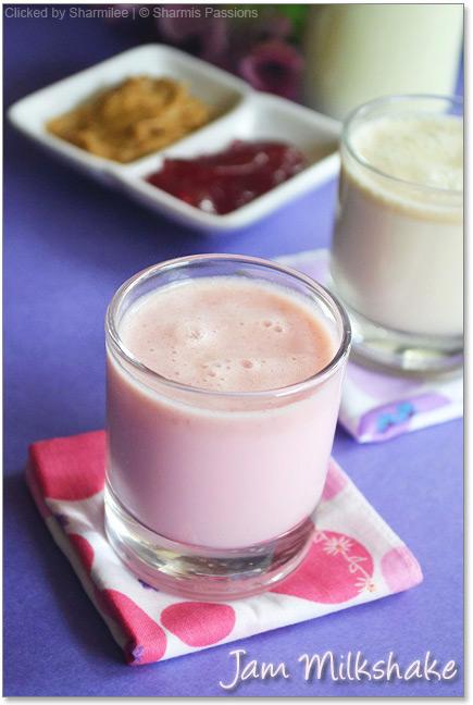 Jam Milkshake Recipe
