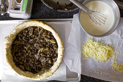 over-the-top mushroom quiche | smitten kitchen
