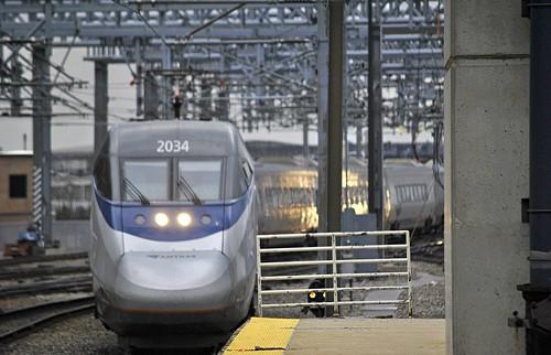 Amtrak Acela Boston