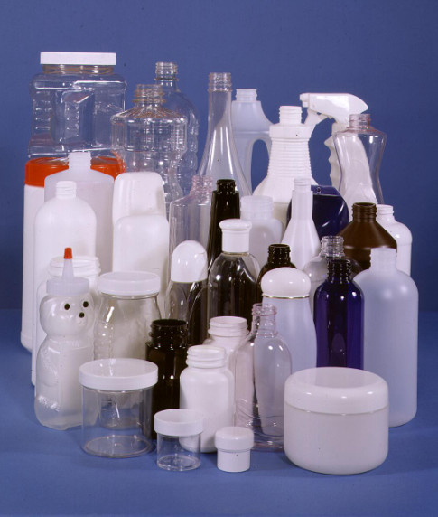plastic products made from petrochemicals