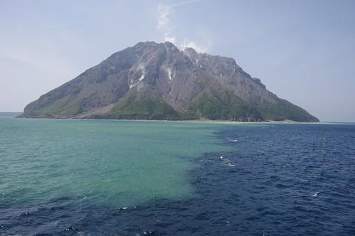 sea mountain japan island volcano kagoshima mishima da1645mm 薩摩硫黄島 三島村