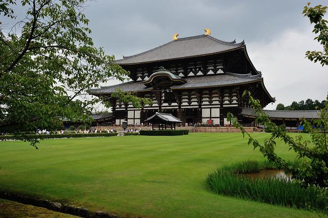 Tōdai-ji, antiguo templo budista de Nara, Japón