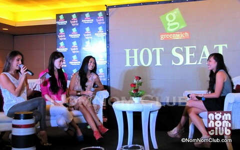 Brand Manager of Pasta Joanne Ingalia in Hot Seat with the Girls