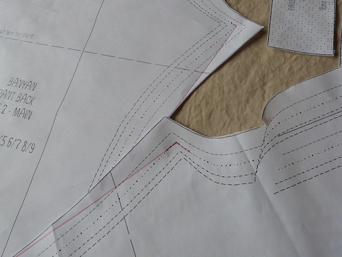 Grading A Smaller Size Inseam, Outseam