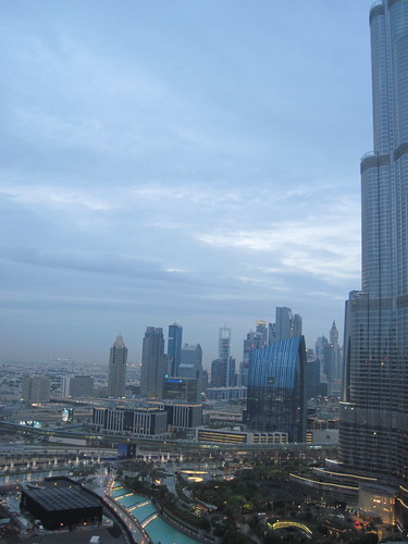 Grey Dubai Weekend Skies