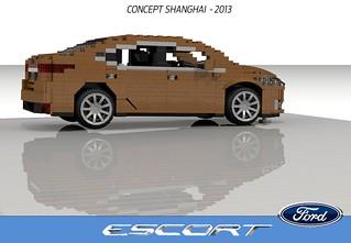 Ford Escort - Shanghai Concept - 2013