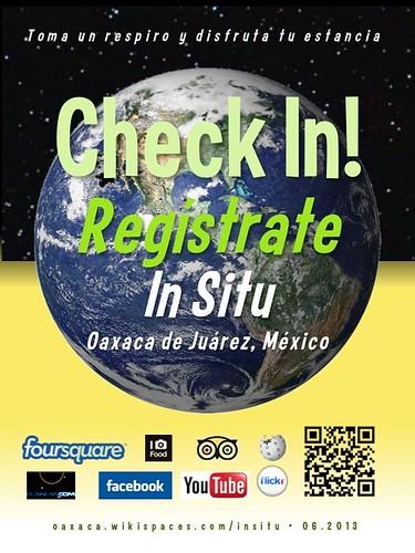 In Situ Check In! Regístrate Oaxaca 06.2013
