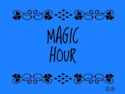 Buzzword Bingo: Magic Hour