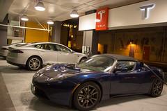 automobile, tesla, tesla roadster, vehicle, performance car, automotive design, auto show, land vehicle, luxury vehicle, supercar, sports car,