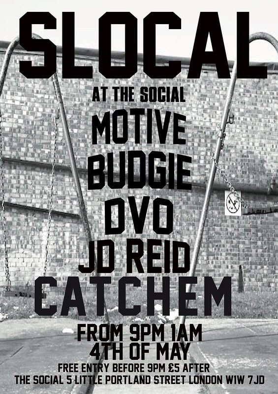 SLOCAL AT THE SOCIAL FLYER 4th of May B&w Swings02 (1)