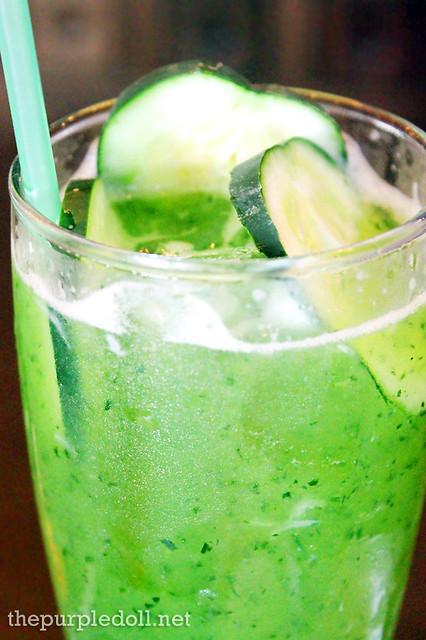 Cucumber Lime Fizz P120